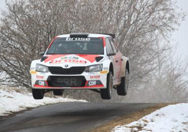 Klasse-DRM-Auftakt mit Gesamtplatz 2 für das Brose Rallye Team