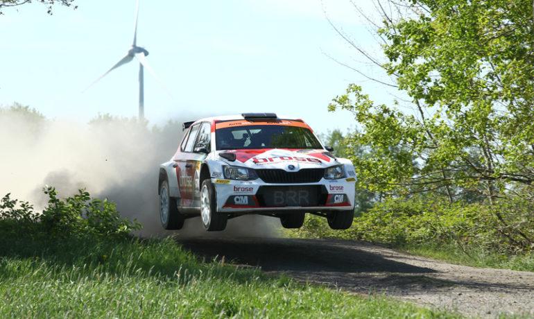Das Brose Rallye Team: Mit Sulingen-Sieg an die Spitze der DRM