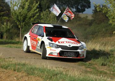 Nervenstark zu Platz zwei bei der Niedersachsen Rallye