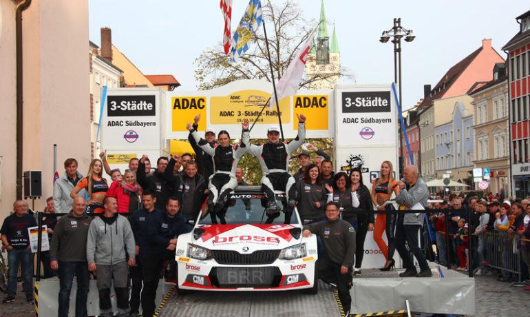 Souveräner Sieg bei der ADAC 3-Städte-Rallye