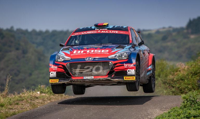 Schwieriges Rallye-Deutschland-Wochenende für Dinkel/Fürst
